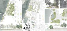 Fontana (2016): Umgestaltung und Erweitung des Rheinparks, Basel (CH), via competitionline.com