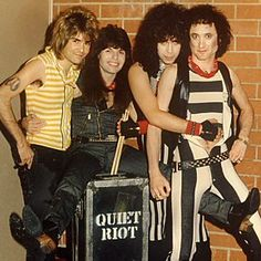 Kevin DuBrow of Quiet Riot | Rare Photos of Music ...