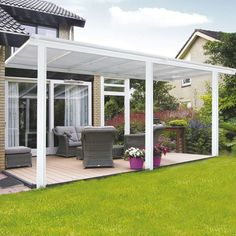 HOME DELUXE Terrassendach BxT: cm While ancient with thought, your pergola has become having Diy Pergola, Gazebo, Pergola Carport, Pergola Garden, Pergola With Roof, Pergola Shade, Patio Roof, Backyard, Pergola Ideas