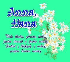 26.7 meninové priania Anna, Hana Blog, Blogging