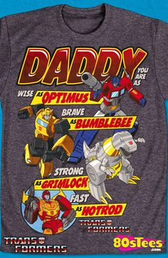 Autobots Father's Day Transformers T-Shirt