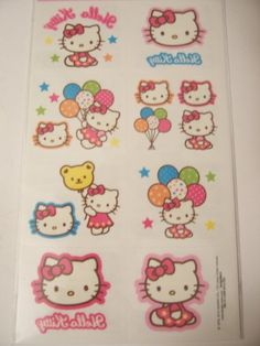 2323a61547e8 Hello Kitty Tattoos Kitty Fun 16 Tattoos    Read more reviews of the  product by visiting the link on the image.Note It is affiliate link to  Amazon.