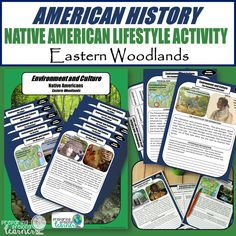 Learn about Eastern Woodlands Native Americans while generating and evaluating a hypothesis Middle School Teachers, Elementary Teacher, Native American Games, Social Studies Resources, Instructional Coaching, Vocabulary Games, Native Americans, Nativity, Activities