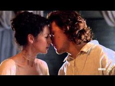 Sam Heughan's Favorite Outlander Moments - Claire avoids a kiss - YouTube