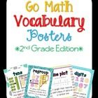 This set includes eye-catching vocabulary posters for all of the vocabulary words that go along with the second grade Go Math series. These posters...