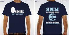 Sant Nirankari Mission Southern California branch Oneness t-shirts