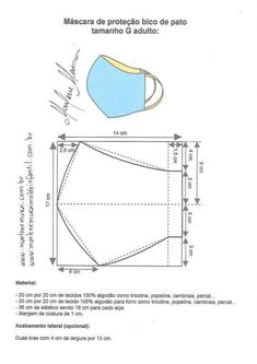 Pin on Mascaras individuais Pin on Mascaras individuais Diy Mask, Diy Face Mask, Sewing Hacks, Sewing Projects, Free To Use Images, Mouth Mask, Fashion Sewing, Sewing Techniques, Pattern Making