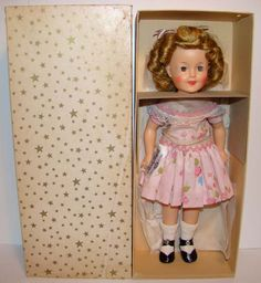 1957-58 Shirley Temple Doll.  I had one of these and so did my little sister.