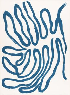 """gammagay: """" tri-ciclo: """" William Turnbull ( ) Leaves, Blue, 1967 Medium Lithograph on paper """" tri-ciclo: """" William Turnbull ( ) Leaves, Blue, 1967 Medium Lithograph on paper """" """" Henri Matisse, Art And Illustration, William Turnbull, Modern Art, Contemporary Art, Modern Prints, Chicago Artists, Elements Of Art, Art Plastique"""