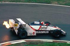 F1 1984 - San Marino GP - Toleman TG183B - Johnny Cecotto