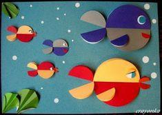más y más manualidades: Manualidades con círculos de papel para hacer con niños