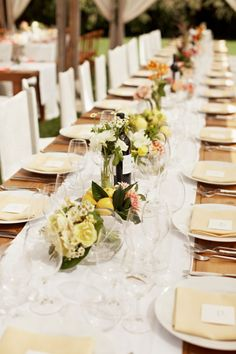 Shannon Leahy Events - Vineyard Wedding - Santa Rosa - Annadel Estate Winery - Tablescape - Centerpieces