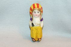 Vintage / Bisque Doll / Native American / by AmericanHomestead, $10.00