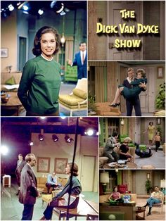 "Color photos of Interior sets from ""THE DICK VAN DYKE SHOW"" ran from October 3, 1961, to June 1, 1966, with a total of 158 half-hour episodes spanning five seasons. It was produced by Calvada Productions in association with the CBS Television Network and Desilu Studios. Laura Petrie, Mary Tyler Moore, Tv Sets, Top Gun, Set Design, Actors & Actresses, Studios, October, Movie"