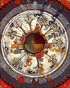 Las 4 estaciones visión de Hildegarda von Bingen s XI