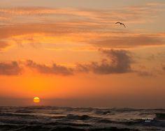 Sunrise on Okaloosa Island, Florida.
