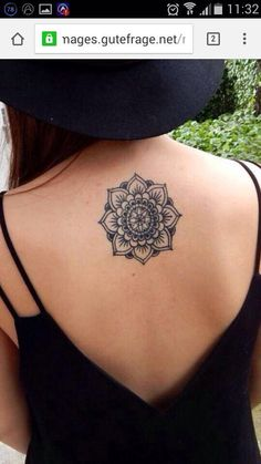 Mandala tattoo idea