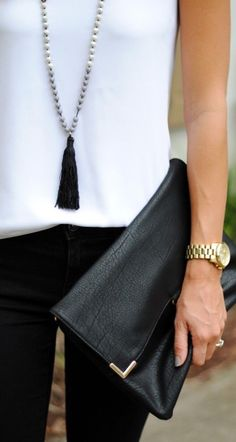 Love the tassel necklace