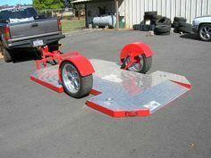 lowered suspension trailer