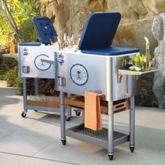 Good Frontgate Tommy Bahama Cooler With Rolling Base