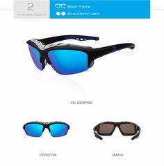 Men's Polarized Sunglasses Unique Removable Frame Mirror Driving Men's Goggles - Sunglasses