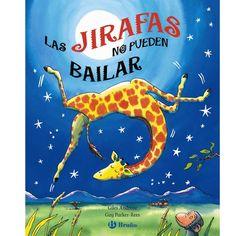 """LAS JIRAFAS NO PUEDEN BAILAR - Alupé – Chufa quiere participar en el Baile de la Selva, pero todos creen que las jirafas no pueden bailar. ¿Estarán equivocados? Chufa les demostrará que no es así"""". Todos los años, en África, se celebra el Baile de la Selva… ¡y a los animales les encanta bailar y hacer piruetas! Chufa quiere participar en ese famoso Baile, pero como todo el mundo sabe, ¡las jirafas no pueden bailar! ¿O sí…? Una historia tierna y divertida en un fabuloso álbum desplegable."""