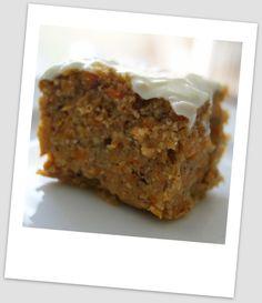 gluten free carrot cake...