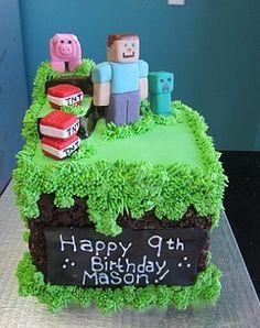 Minecraft Cake by Sugar Bee's Bakery, Las Vegas