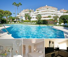 This top floor apartment is situated in a famous complex in the much sought after area of Las Lomas del Marbella Club. This exclusive urbanisation has a 24-hour security service...