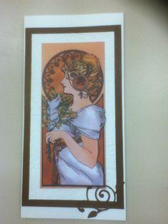 My Craft Studio Art Nouveau decoupage