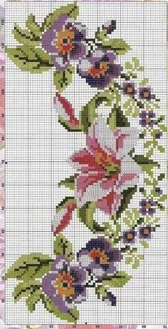 1 million+ Stunning Free Images to Use Anywhere Cross Stitch Art, Cross Stitch Borders, Cross Stitch Flowers, Cross Stitch Designs, Cross Stitching, Cross Stitch Embroidery, Hand Embroidery, Cross Stitch Patterns, Embroidery Designs