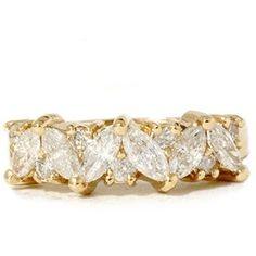 Womens 1.65ct Diamond Wedding Anniversary Marquise « Holiday Adds
