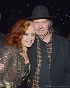Bonnie Raitt and Neil Young