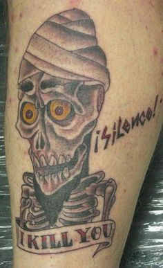 achmed tattoo