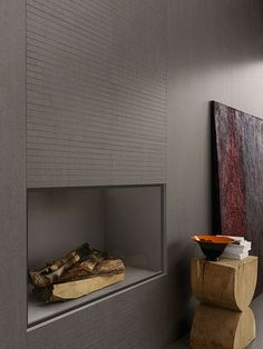SLIMTECH in NATURAL. Lightweight porcelain tile slab and easy to maintain! Lovely idea using it around a fireplace or on the wall to break up the space.   http://www.skheme.com/Code.aspx?ID=SLIMTECH%20NATURAL