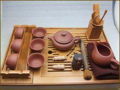 yixing tea table