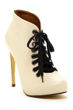 Michael Antonio Mayer Lace-Up Bootie by Non Specific on @HauteLook