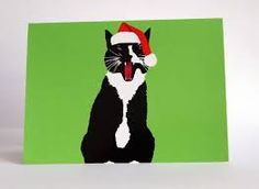 we wish you a meowy christmas card - Google Search