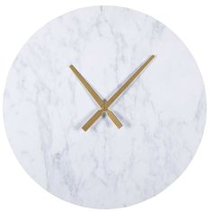 Marble effect clock ARMAND