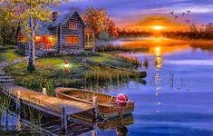 en güzel manzara tabloları - Google'da Ara
