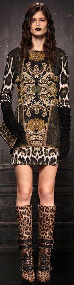Just Cavalli 2013 / High Fashion / Ethnic & Oriental / Carpet & Kilim & Tiles & Prints & Embroidery Inspiration /