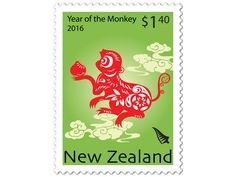 COLLECTORZPEDIA: New Zealand 2016Year of the Monkey