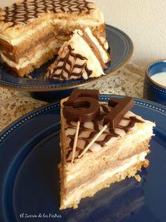 El Zurrón de los Postres: Tarta el Capricho de Moisés Best Cake Recipes, Cakes And More, Finger Foods, Kids Meals, Cupcake Cakes, Cupcakes, Delicious Desserts, Food Porn, Sweets