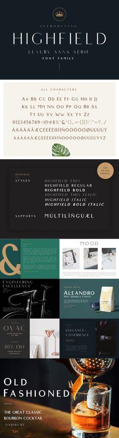 The Modern Font Bundle — Pixel Surplus Sans Serif Fonts, Typography Fonts, All Fonts, Typography Design, Lettering, Typo Poster, Bold Italic, Brush Font, Modern Fonts