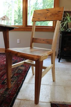 Rustic Yet Modern Heart Pine/ Ash Dining Chair $225 · Dining Room  FurnitureDining ... Part 46
