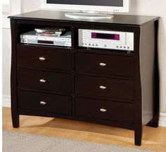 Furniture Of America Brooklyn Media Chest CM7805