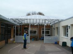 Park Street Furnishing provide their customers with bespoke entrance canopies so you can create a welcoming covered entrance area. Best Commercials, Canopies, Entrance, Outdoor Decor, Home, Entryway, Door Entry, Ad Home, Homes