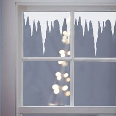 Winter Icicles Vinyl Window Stickers by Nutmeg Wall Stickers, the perfect gift for Explore more unique gifts in our curated marketplace. Christmas Window Decorations, Christmas Door, Christmas Window Display Retail, Winter Window Display, Christmas Window Stickers, Christmas Windows, Winter Wonderland Party, Window Art, Window Picture