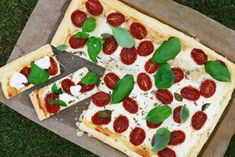 Smördeg med fetaostkräm & rostade tomater   Catarina Königs matblogg
