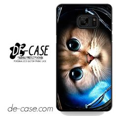 Cute Space Cat DEAL-2955 Samsung Phonecase Cover For Samsung Galaxy Note 7
